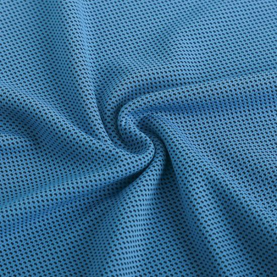 Cool Yarn Jacquard 100% Polyester   Mesh Interlock Knitting Fabric for Sports Wear or Pants pictures & photos
