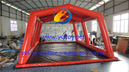 Inflatable Car Wash Pad Tent Car Cover & China Inflatable Car Wash Pad Tent Car Cover - China Car Cover ...
