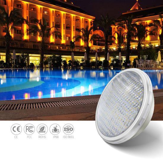ABS Material 18W 12V RGB IP68 Waterproof LED Swimming Pool UV Lighting