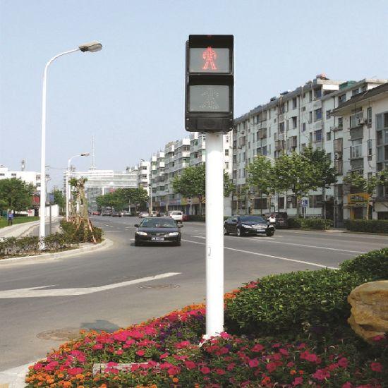 Road LED Solar Street Baton Traffic LED Signal Traffic Signal Lamp Light Signal