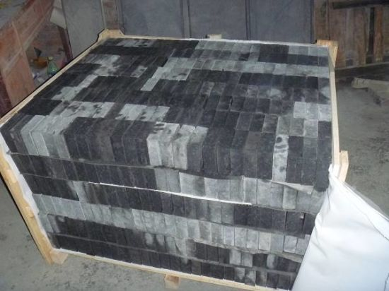 Polished Cheap Black G684 Granite Slab pictures & photos