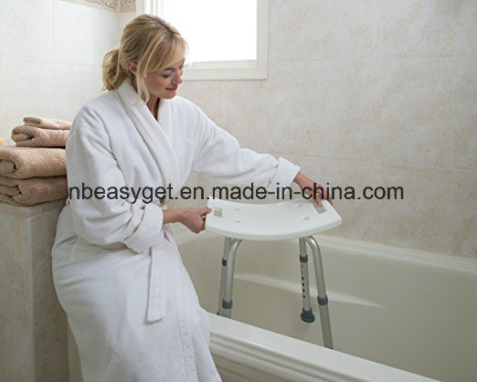 Adjustable Height Bath and Shower Seat Top Rated Shower Bench Lightweight Shower Stool Shower Chair Shower Bench Bathing Bench pictures & photos