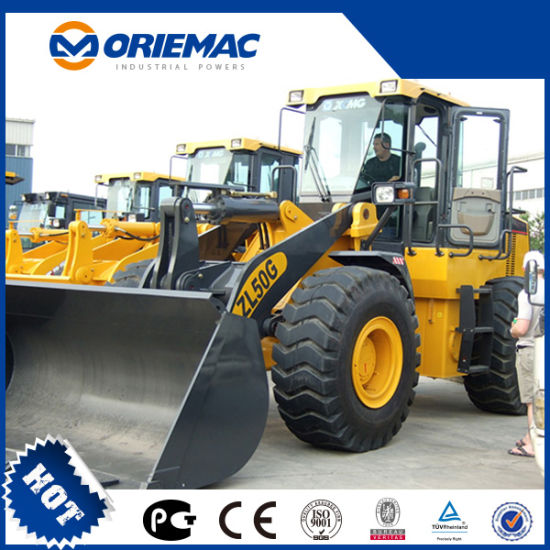 Oriemac 5-5.5 Ton Front Wheel Loader Zl50gn with 3m3 Bucket