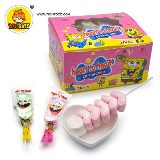 Heart to Heart Marshmallow Lollipop