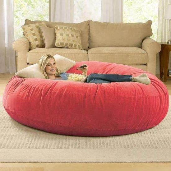 Bean Bag Sofa, Large Round Sofa Chair