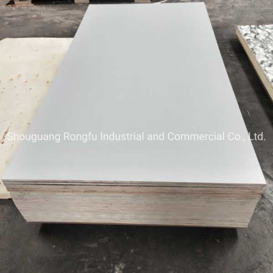 Competitive Price High Quality of Melamine Plywood for Furniture Cabinet