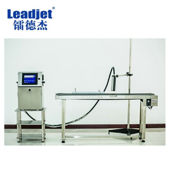 Leadjet 4 Lines Expiry Date Marking Flex Printing Machine V98