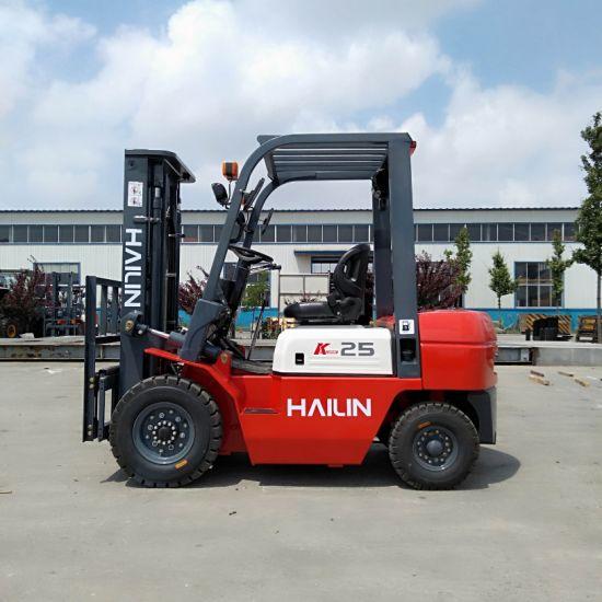 Forklift 3 Ton Diesel Forklift with Japanese Engine Isuzu C240 Engine