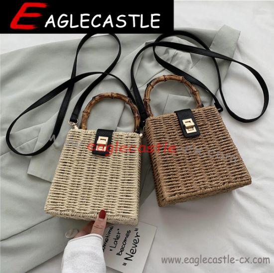 Hot Rattan Lady Bag / Straw Bag/Beach Bag/Handbag/Shoulder Bag/Crossbody Bag (CX19003)