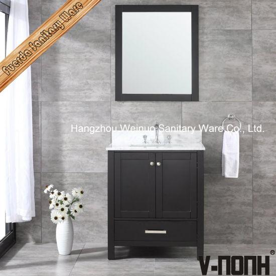China 30 Inch Single Sink Espresso Custom Bathroom Vanities