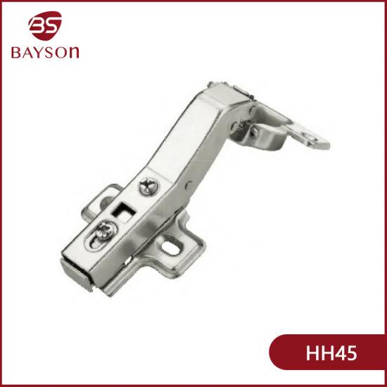 China 45 Degree Kitchen Cabinet Corner Hydraulic Hinge China Furniture Hinge Door Hinge