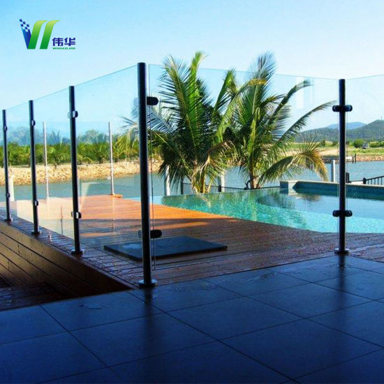 China Clear Glass Wall For Swimming Pool With High Quality China
