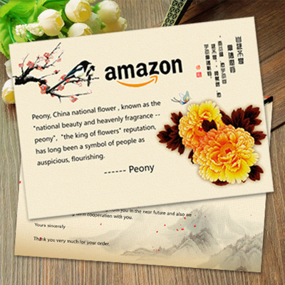 Amazon Customer Greeting Cards Thank You Cards pictures & photos
