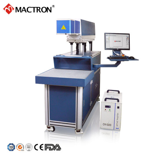 Leather Greeting Card Dynamic CO2 Laser Marking Machine
