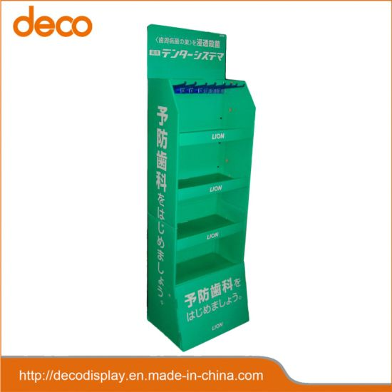 Store Custom Pop Cardboard Floor Displays for Dental Care Product pictures & photos