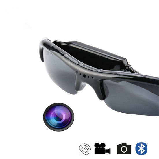 93ac5799187 Wireless Bluetooth MP3 Sunglasses Camera Support TF Handsfree HD Sport DV Video  Recorder Smart Eyewear Camcorder