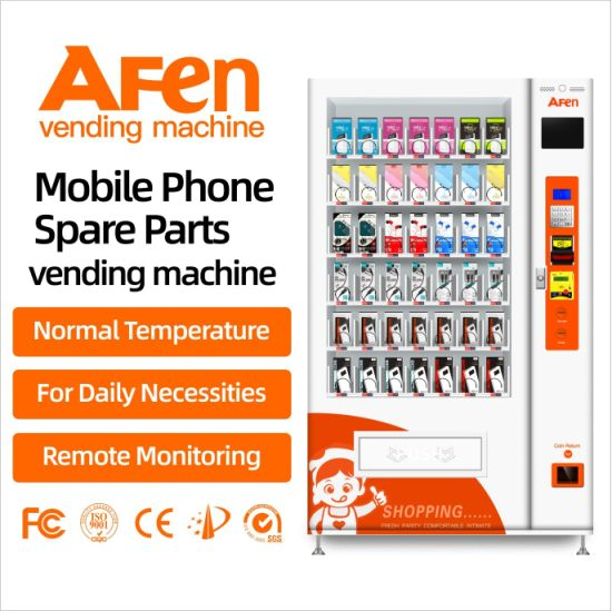 Afen Trail Mix Baked Chips Glasses Vending Machine in Shopping Mall From Top China Supplier