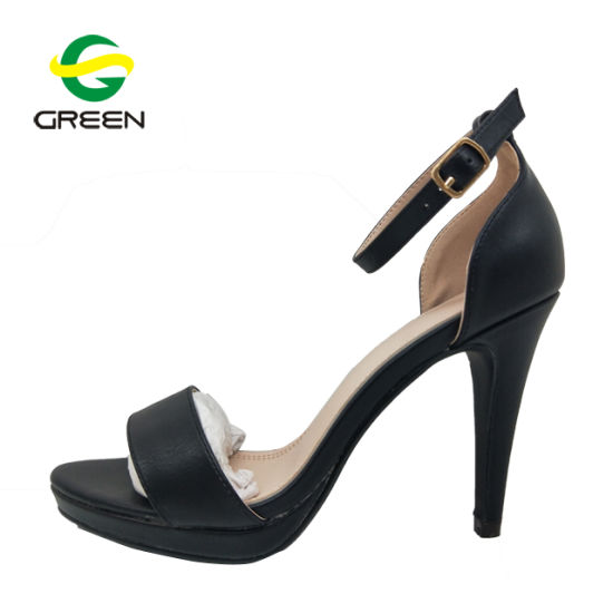 bc5f9cdcaaed6c China 2018 Ladies Heel Shoes New Model Women Sandals