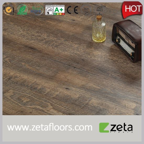Luxury Lvt PVC Vinyl Plank Flooring with Click and Waterproof