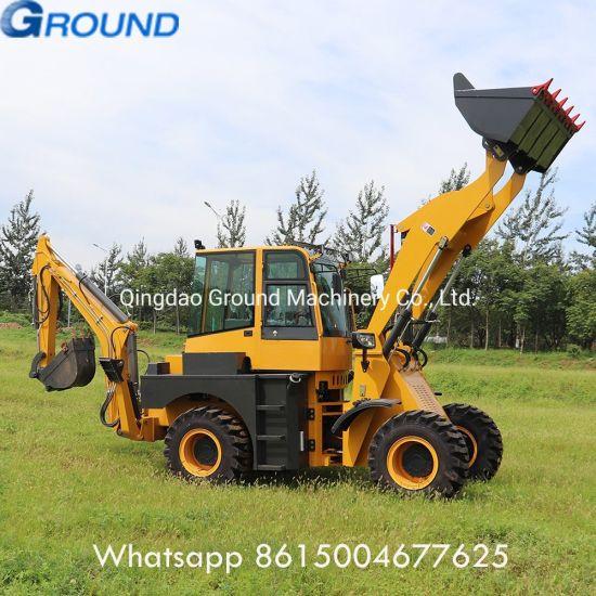 Backhoe Loader GM30-25 with Excavator for agriculture