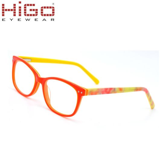 fd96735fccb9 China Seven Colors Kids Glasses Acetate Optical Frame Spectacles ...