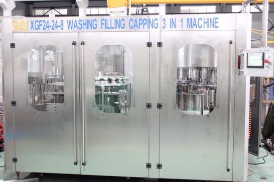 Semi Automatic Liquid Oil Water Juice Milk Processing and Filling Machine