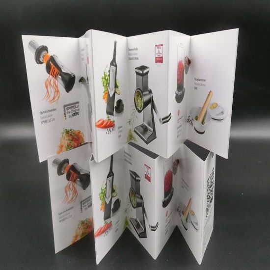 Custom Design Booklet Brochure Catalog Printing Service Flyer pictures & photos