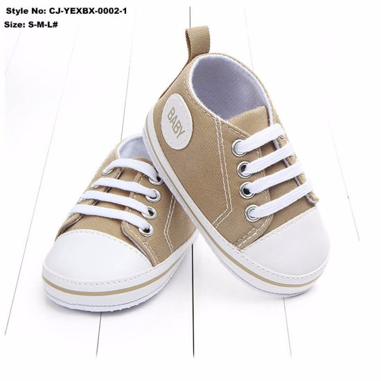 China Baby Canvas Sneakers Non-Slip