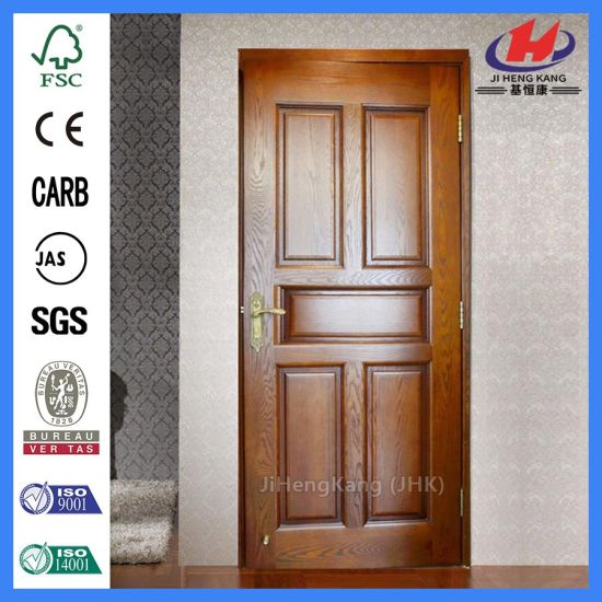 China Cottage Designs Solid Oak Interior Latest Veneer Door China