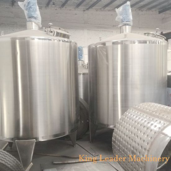 3000L Stainless Steel Batch Mixer for Juice