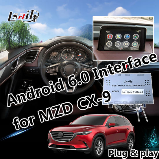 Plug&Play Android 6.0 Car GPS Navigation System for Mazda Cx-9 with Google Play APP Mirrorlink Online Map etc. pictures & photos