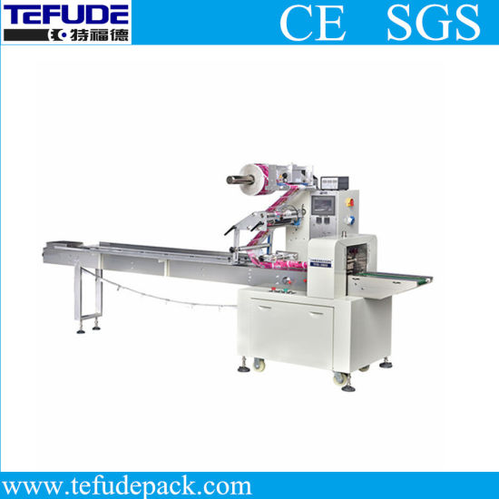 Automatic Horizontal Pillow Type Flow Food Packing Machine