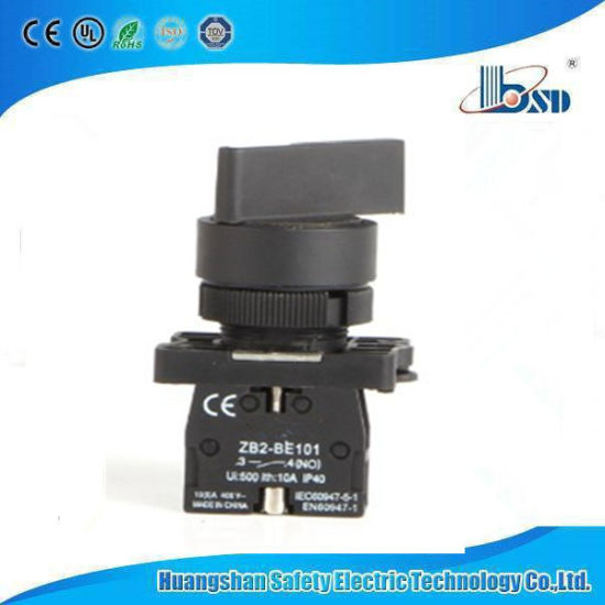 Black Color Long Knob Switch with Plastic Material