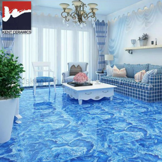 Sitting Room Beautiful Blue Color