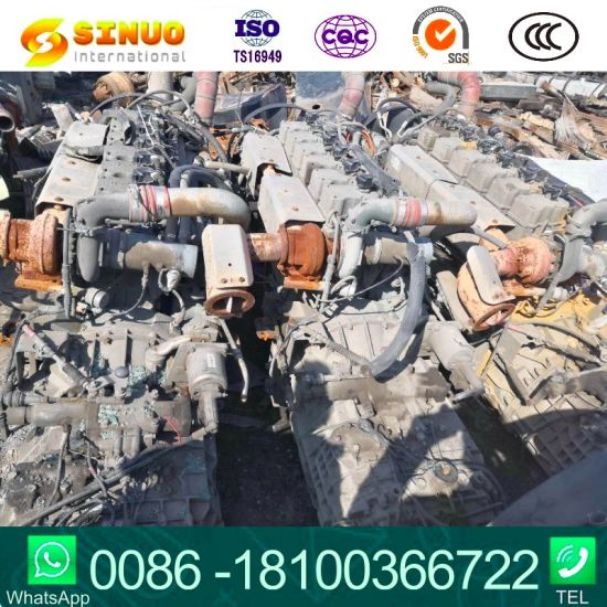 Used Weichai Diesel Engine Wp10.340e32 Wp10.375for Shacman Truck Used Engine for Truck