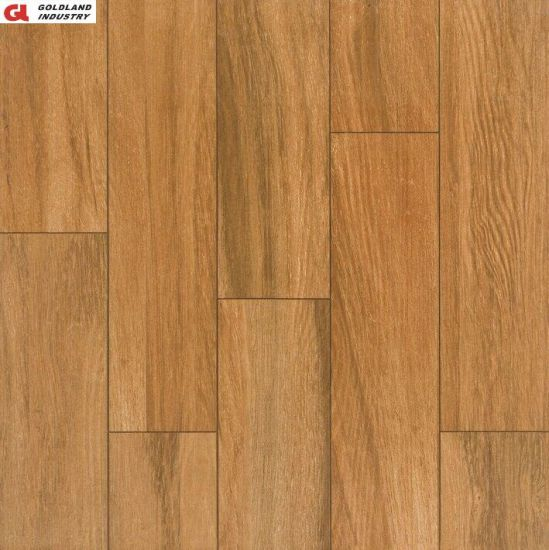 Natural Wooden Touching Rustic Porcelain Tile for Floor and Wall