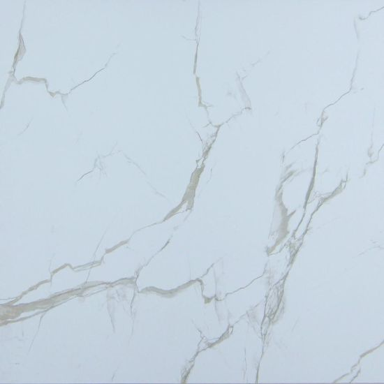 China South Korea Nature Style Marble Look Square White Ceramic Tile