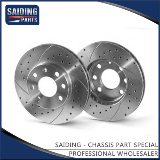High Strength Brake Disc for Lexus Rx270/350/450 Auto Parts 43512-48110 pictures & photos