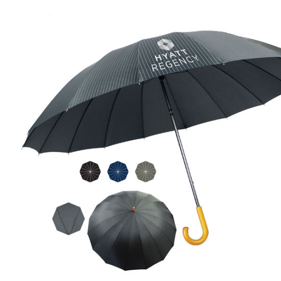 "Custom Printed 60"" Mary Poppins Style Umbrella"