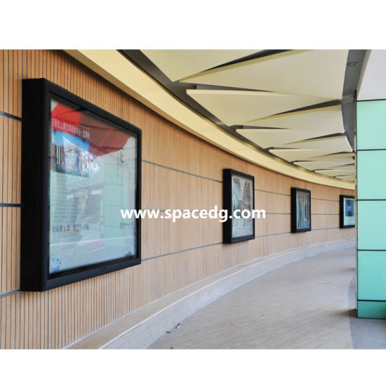 Indoor High Quality Advertising Wall Mounted Scrolling LED Light Box for Sale