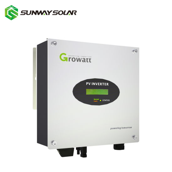 Growatt New Energy 3kw Solar on Grid Tie Power Inverter pictures & photos
