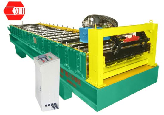 Galvanized Corrugated Steel Roof Panel Making Machine/Roll Forming Machine