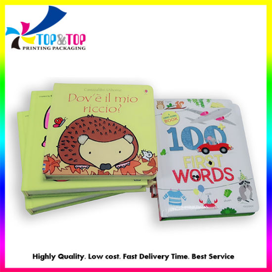 Wholesale Hardcover Book Printer Affordable Offset Children Board Books Printing