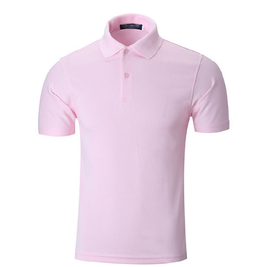 f2c6c0e6ac5a Men Custom Logo Blank Quick Dry Fit Black Sports Golf Polo T-Shirts  pictures