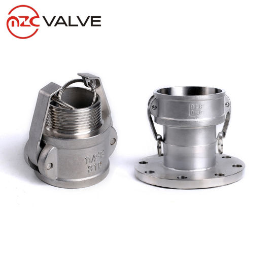 Stainless Steel Quick Coupling, Male Coupler, Quick Coupling Type B