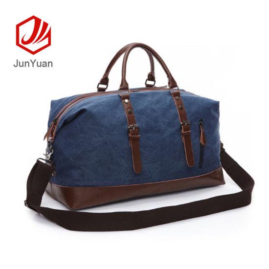 e90474ea08a2 Junyuan Outdoor Luggage Bag Large Capacity Casual Canvas Bag Shoulder Slung  Handbag