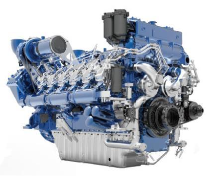 Weichai M33 Marine Diesel Engine Series (368-1103kW) pictures & photos
