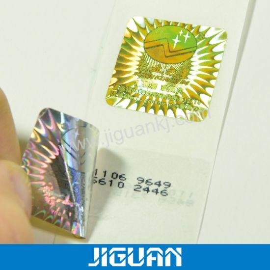Promotion Custom 3D Hologram Anti-Fake Label Sticker