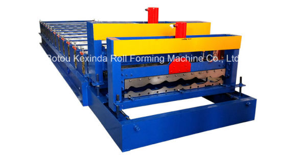 High Quality Kxd 1100 Glazed Tile Roll Forming Machine for Sale pictures & photos