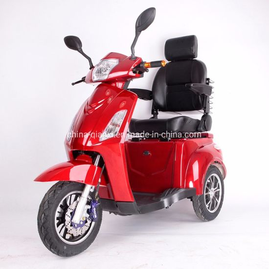 Elderly People Used 3 Wheel Electric Scooter with Seat